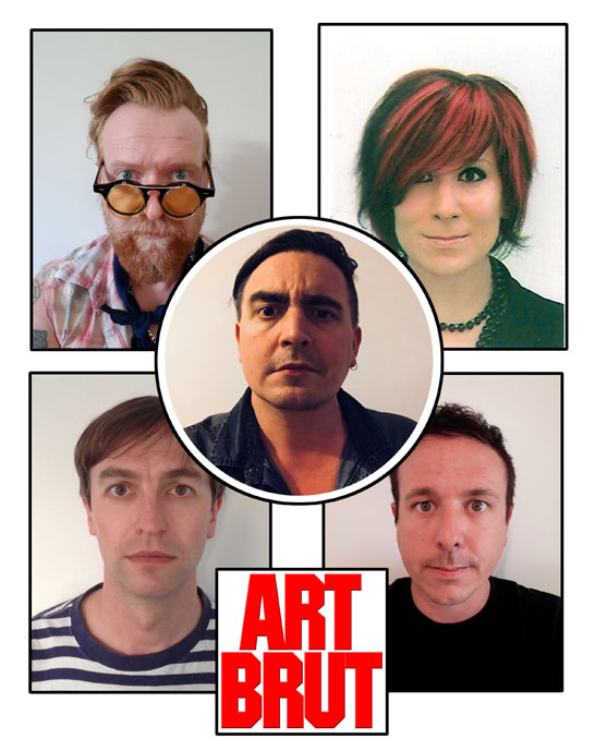 Art Brut Band Photo